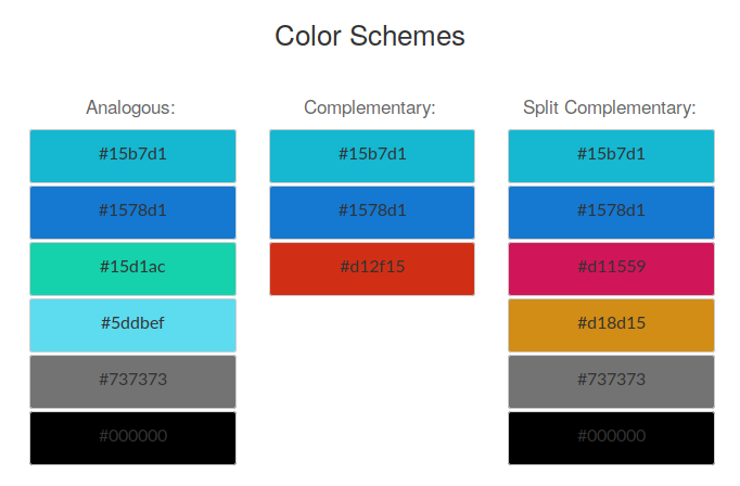 DebConf20 color scale